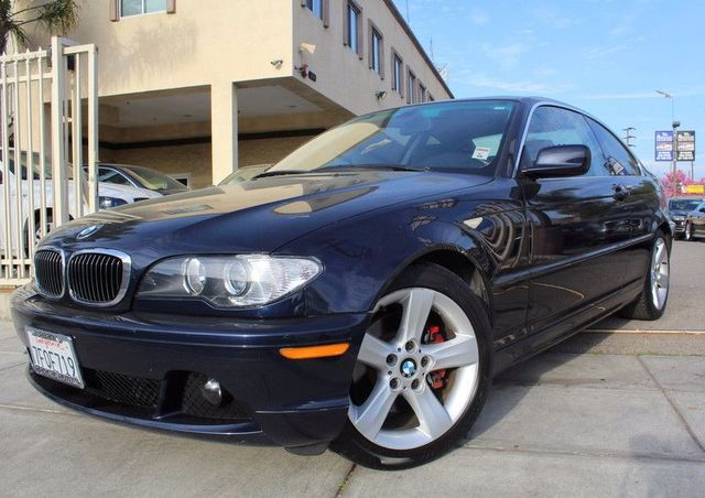 2004 BMW 325Ci CARFAX CERTIFIED SUPER CLEAN ALLOY WHEELS MOON ROOF CRUISE CONTROL BLUETO