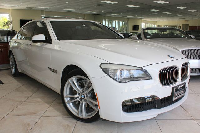 2012 BMW 740Li CARFAX CERTIFIED FULLY LOADED M SPORT PACKAGE KEY LESS ENTRY KEY LESS START