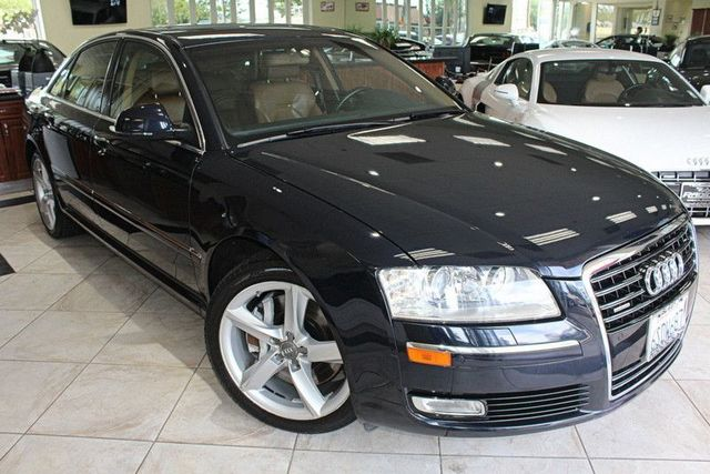 2008 Audi A8 Quattro CARFAX CERTIFIED SUPER CLEAN KEY LESS ENTRY KEY LESS START NAVIGATION