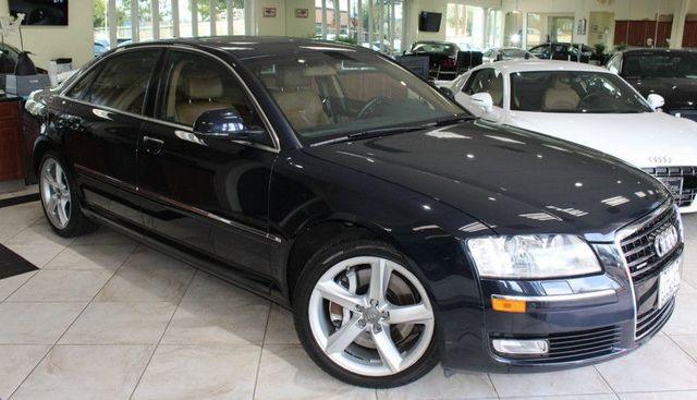 2008 Audi A8 Quattro CARFAX CERTIFIED SUPER CLEAN KEY LESS ENTRY KEY LESS START NAVIGATION