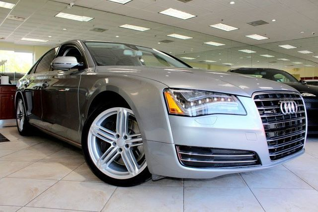 2011 Audi A8 42 Quattro CARFAX CERTIFIED KEY LESS ENTRY KEY LESS START BOSE SURROUND SYSTEM