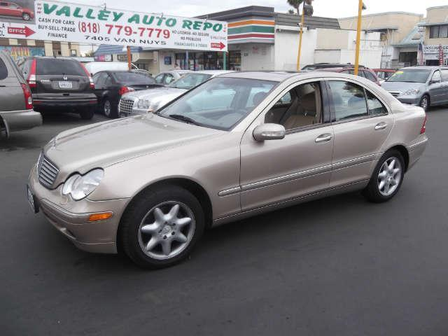 2001 Mercedes C-Class we sell the repos for the banks which means the banks loss is a cheaper car
