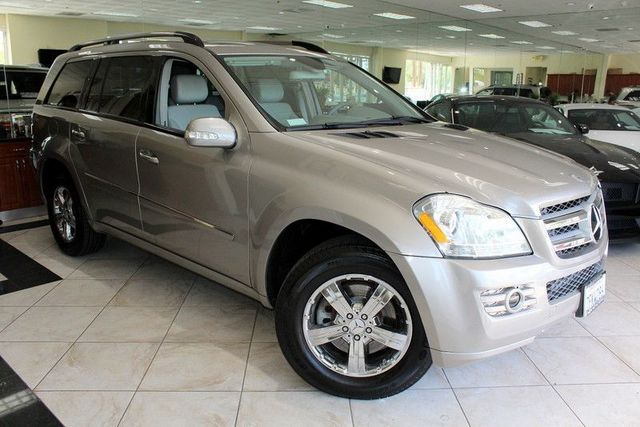 2007 Mercedes GL-Class GL450 CARFAX CERTIFIED THIRD ROW SEATING KEY LESS ENTRY NAVIGATION
