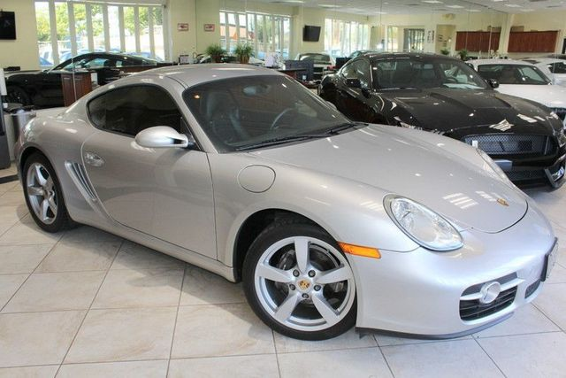 2008 Porsche Cayman Coupe CARFAX CERTIFIED LOW MILES REAR SPOILER CRUISE CONTROL DUAL POWE