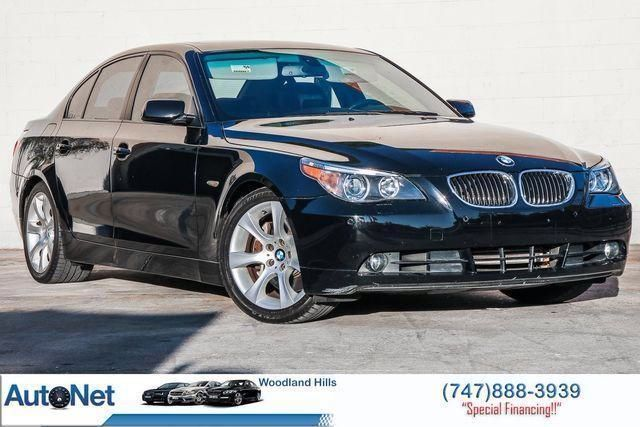 2006 BMW 550I, SPORT AND AMP;AMP; PREMIUM LOW MILES