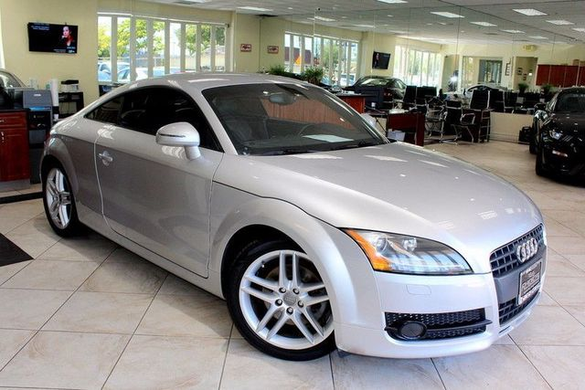 2008 Audi TT 20T CARFAX CERTIFIED KEY LESS ENTRY BOSE PREMIUM SOUND AM  FM STEREO POWER