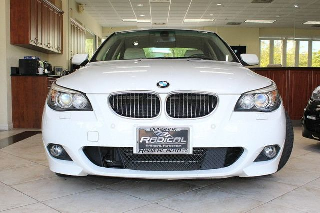 2008 BMW 550i CARFAX CERTIFIED ONE OWNER KEY LESS ENTRY KEY LESS START BLUETOOTH WIRELESS