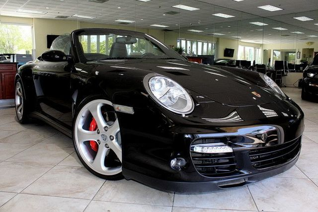 2008 Porsche 911 Turbo CARFAX CERTIFIED ONE OWNER CONVERTIBLE LOW MILES SPORT CHRONO PACKA