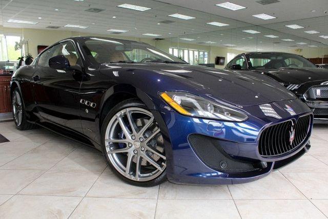 2015 Maserati GranTurismo Sport CARFAX CERTIFIED FACTORY WARRANTY SPORT VOICE CONTROL BLUETO