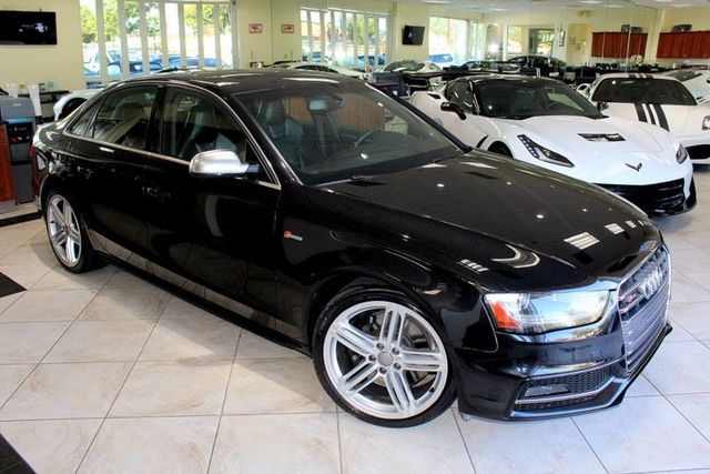 2014 Audi S4 Premium Plus CARFAX CERTIFIED S4 PREMIUM PLUS KEY LESS ENTRY KEY LESS START