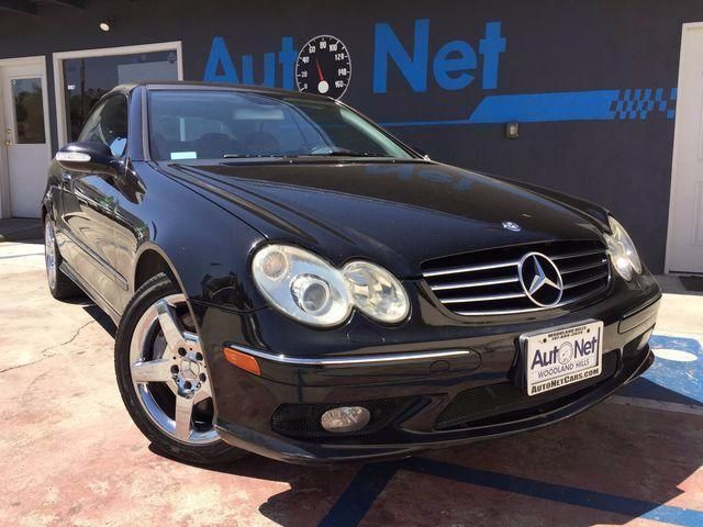 2005 Mercedes CLK500 50L This Mercedes-Benz CLK500 is in good condition Black on Black classy c