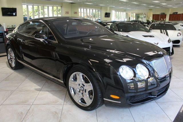 2005 Bentley Continental GT CARFAX CERTIFIED NAVIGATION BLUETOOTH BACK SEAT RECLINING PARK