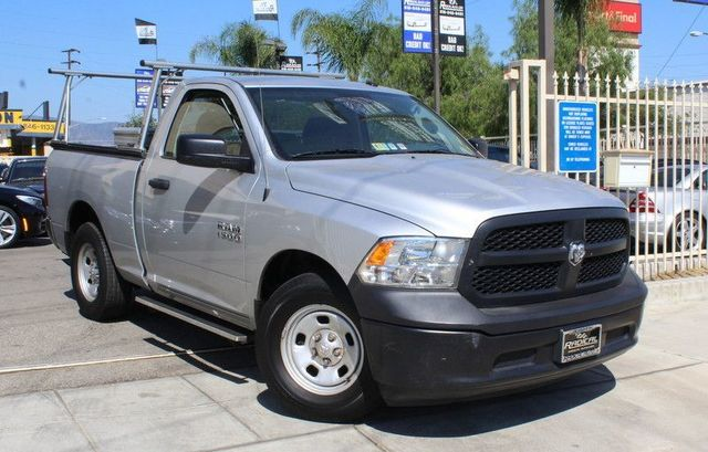 2014 RAM 1500 Tradesman CARFAX CERTIFIED ONE OWNER FACTORY WARRANTY RAM BOX RUNNING BOARDS
