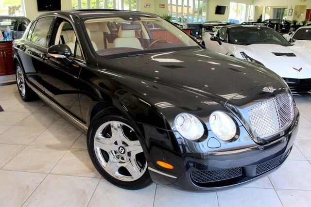 2006 Bentley Continental Flying Spur Sedan CARFAX CERTIFIED LOW MILES KEY LESS ENTRY PUSH TO