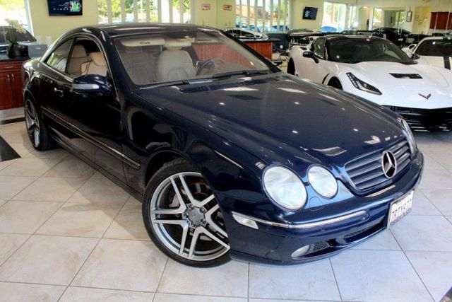 2002 Mercedes CL500 C-Class CARFAX CERTIFIED KEY LESS ENTRY NAVIGATION BOSE PREMIUM SOUND SY