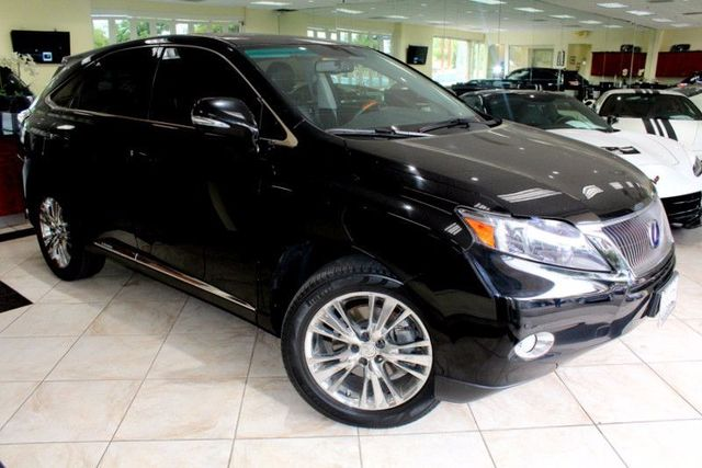 2010 Lexus RX 450h CARFAX CERTIFIED PREMIUM PACKAGE KEY LESS ENTRY KEY LESS START BACK-UP