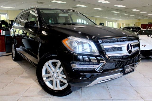 2014 Mercedes GL 450 GL 450 CARFAX CERTIFIED FACTORY WARRANTY ONE OWNER CA CAR NAVIGATION