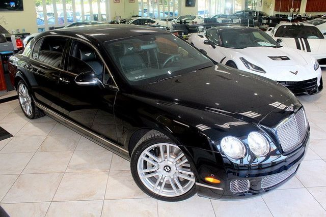 2013 Bentley Continental Flying Spur CARFAX CERTIFIED SUPER CLEAN LOW MILES W-12 KEY LESS