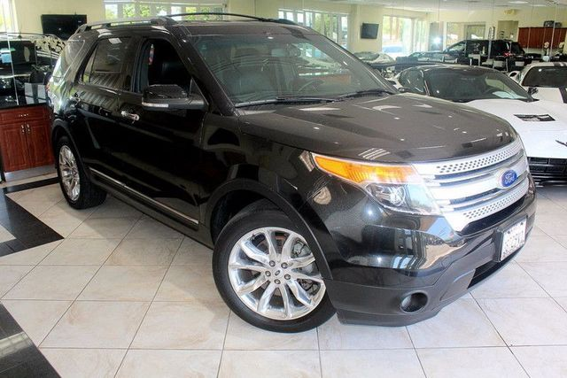 2015 Ford Explorer XLT CARFAX CERTIFIED THIRD ROW SEATING BACK-UP CAMERA PARKING SENSORS N