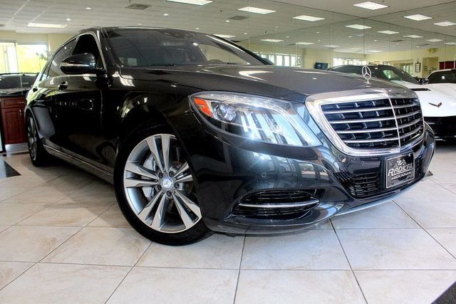 2014 Mercedes S-Class S 550 CARFAX CERTIFIED ONE OWNER FACTORY WARRANTY WARMTH AND COMFORT P