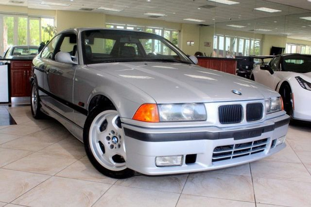 1995 BMW M3 CARFAX CERTIFIED LOW MILES SUPER CLEAN M3 AMFM STEREO CASSETTE SUN ROOF