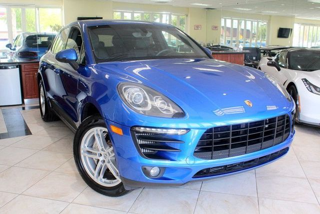 2016 Porsche Macan S CARFAX CERTIFIED ONE OWNER CA CAR FACTORY WARRANTY NAVIGATION FRONT