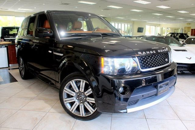 2013 Land Rover Range Rover Sport SC CARFAX CERTIFIED ONE OWNER LOW MILES FULLY LOADED CLI