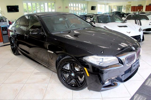 2014 BMW 535d CARFAX CERTIFIED ONE OWNER FACTORY WARRANTY M SPORT PACKAGE DRIVER ASSISTANC