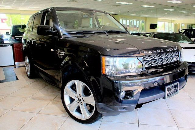2012 Land Rover Range Rover Sport HSE LUX LUXURY EDITION LOW MILES KEY LESS ENTRY KEY LESS S
