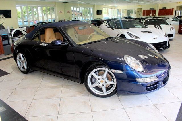2006 Porsche 911 Carrera CARFAX CERTIFIED CONVERTIBLE KEY LESS ENTRY BOSE PREMIUM SOUND AM