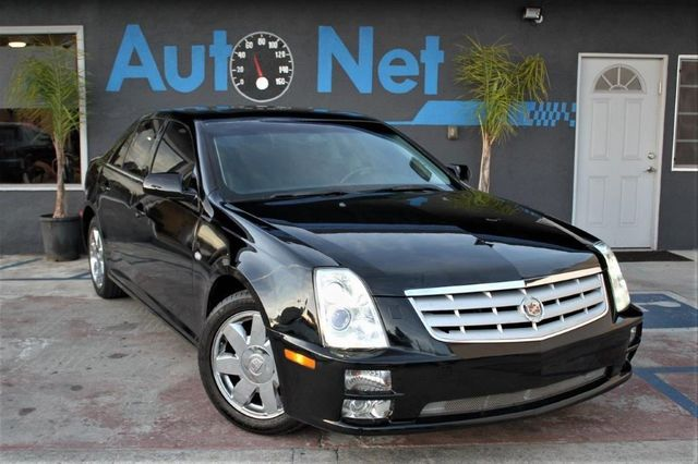 2006 Cadillac STS Premium This 2006 Cadillac STS Comes in a Black Color with Black Interior Amazi