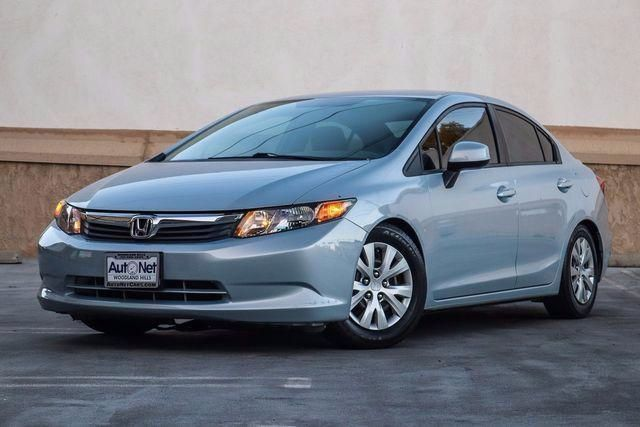 2012 Honda Civic Sdn LX WOW Come check out this 2012 Honda Civic LX Cool Mist Metallic Exterior