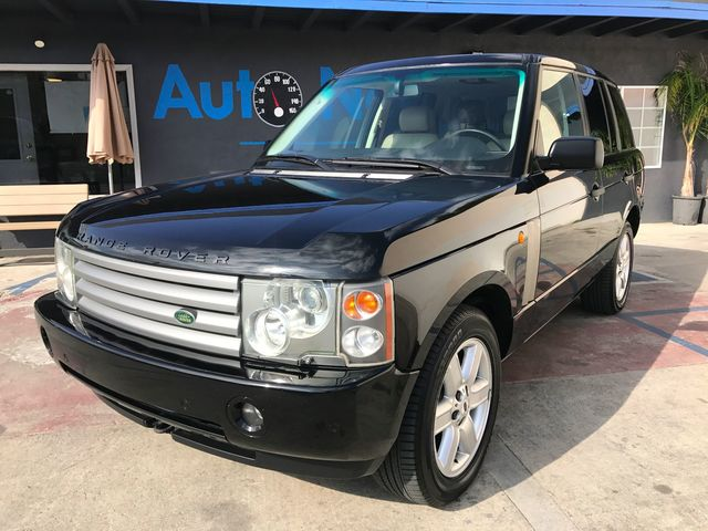 2003 Land Rover Range Rover HSE NAVIGATION Check out this beauty This Range Rover HSE is BlackS