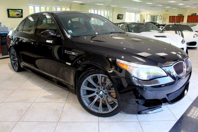 2006 BMW M5 CARFAX CERTIFIED ONE OWNER M MODEL KEY LESS ENTRY KEY LESS GO NAVIGATION B