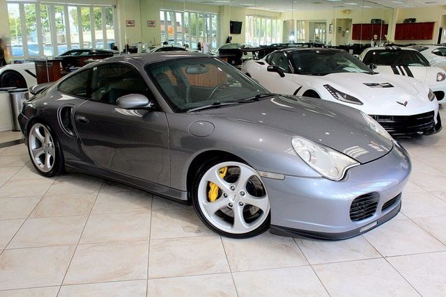 2002 Porsche 911 Carrera Turbo SUPER CLEAN WITH LOW MILES AND A TIMELESS CLASSIC BODY STYLE THIS