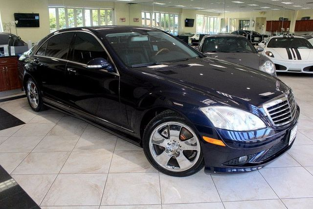 2009 Mercedes S-Class 55L V8 CARFAX CERTIFIED SUPER CLEAN BACK UP CAMERA BLUETOOTH NAVIGAT