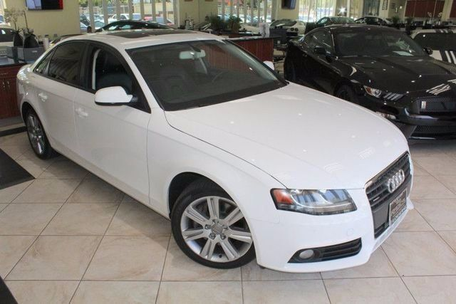2012 Audi A4 20T Premium CARFAX CERTIFIED KEY LESS ENTRY MOON ROOF DUAL CLIMATE CONTROL C