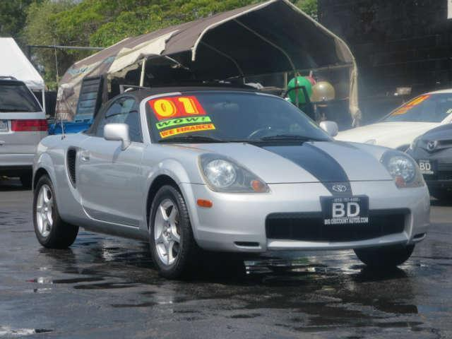 2001 Toyota MR2 Spyder EXCELLENT MANUAL VEHICLE GAS SAVER RUNS SMOOTH CONVERTIBLE CLEAN INSIDE