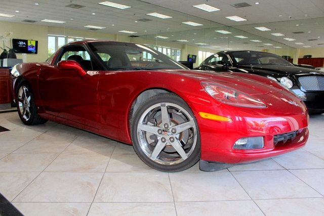 2008 Chevrolet Corvette 1 OWNER NO ACCIDENTS CA VEHICLE MAKE SIMPLE ERRANDS INTO HIGH OCTANE T