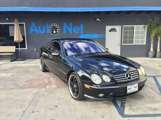2005 Mercedes CL500 50L This Mercedes-Benz CL500 is a sight to see Black on Black color combo wi