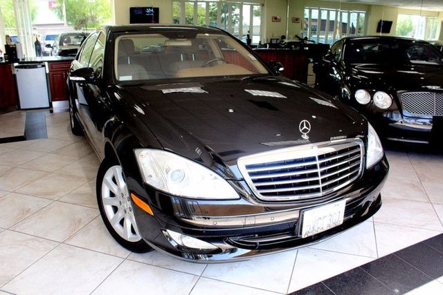2007 Mercedes S-Class 55L V8 CARFAX CERTIFIED ONE OWNER KEY LESS ENTRY KEY LESS GO HARMAN