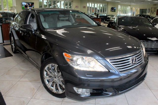 2010 Lexus LS 460 CARFAX CERTIFIED KEY LESS ENTRY KEY LESS START NAVIGATION BACK-UP CAMERA
