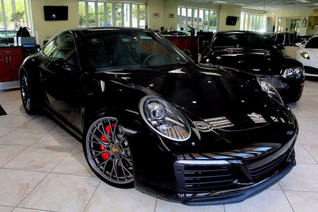 2017 Porsche 911 Carrera 4S CARFAX AND AUTO CHECK CERTIFIED 1 OWNER YOURE SURE TO FALL IN LOVE