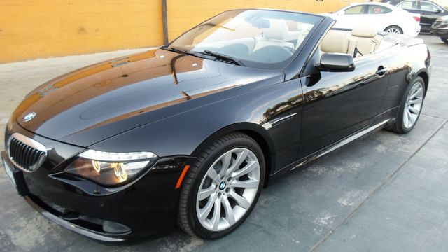 2008 BMW 650i WOWWWWW Black on cream interior with black top car comes with 90 day warranty or 3