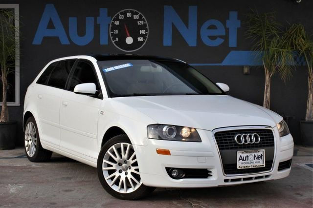 2007 Audi A3 PREMIUM PKG Wow This Audi A3 Premium is one beautiful hatchback Classic White on Be