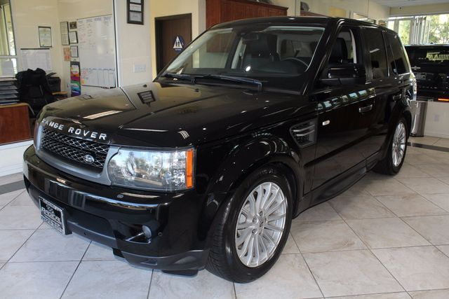 2011 Land Rover Range Rover Sport HSE CARFAX CERTIFIED LOW MILES CALIFORNIA CAR BACK UP CAME