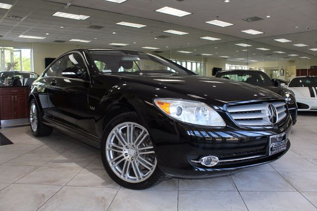 2008 Mercedes CL-Class V12 CARFAX CERTIFIED CALIFORNIA CAR LOW MILES BACK UP CAMERA NAVIGA