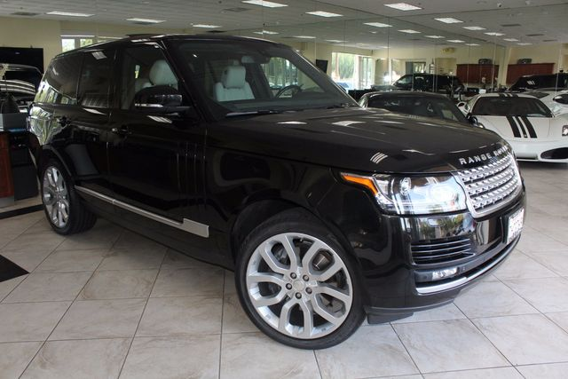 2014 Land Rover Range Rover Supercharged CARFAX CERTIFIED ONE OWNER FACTORY WARRANTY CALIFOR