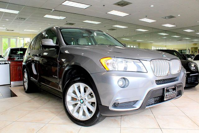2013 BMW X3 xDrive28i LUXURY xDrive28i NAVIGATION BACK UP CAMERA PANORAMIC ROOF LEATHER LOW
