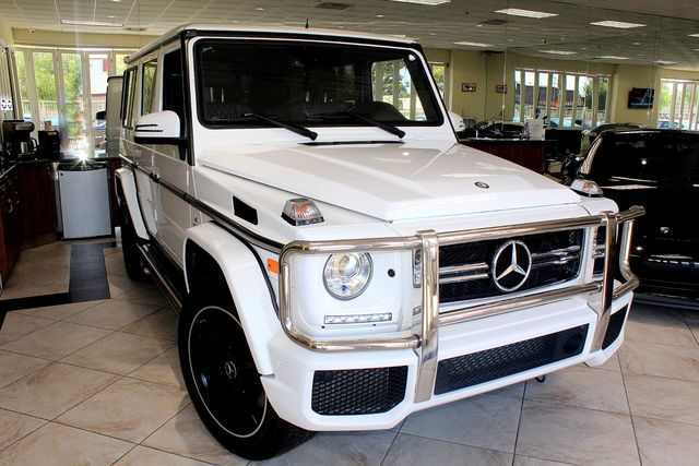 2016 Mercedes G-Class AMG G 63 CARFAX CERTIFIED ONE OWNER CALIFORNIA CAR NAVIGATION BACK U